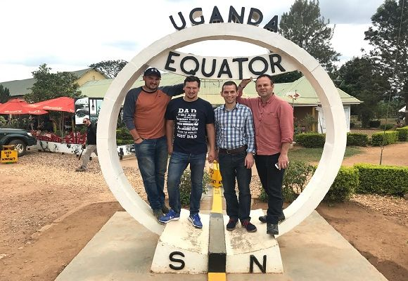 The team at the Equator