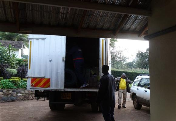Roy's Parcels picks up in Nairobi