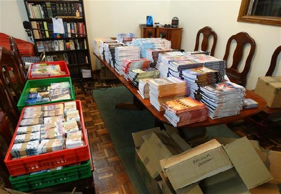 Sorting Books in Kitale