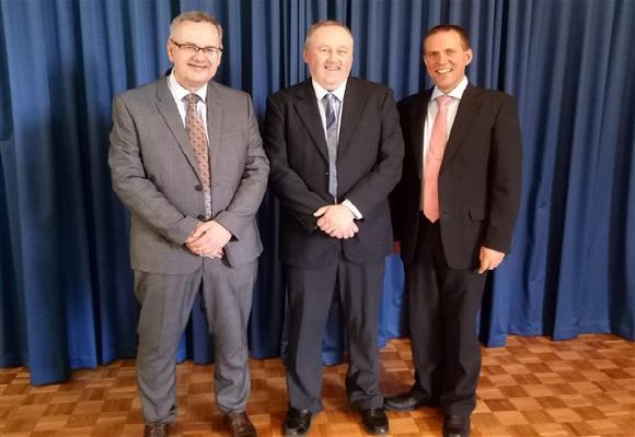 Rev Dane, Mr Muller & Rev Gardiner
