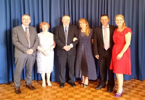 Rev & Mrs Dane, Mr & Mrs Muller and Rev & Mrs Gardiner