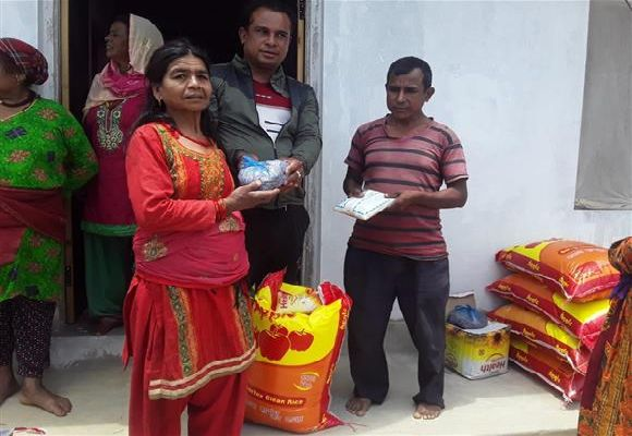 Aid Distribution in Nepal