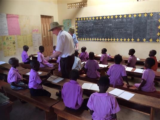 Class at Emmanuel Christian School