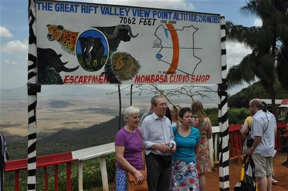 At the Great Rift Valley