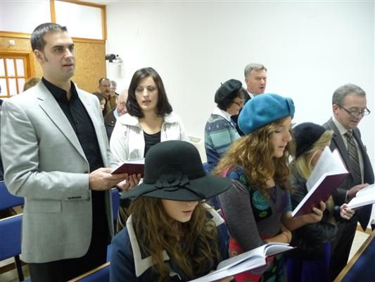 Spain - Church Extension Opening Service